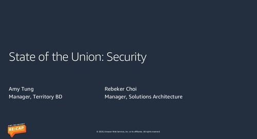 State of the Union : Security
