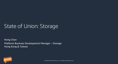 State of the Union: Storage