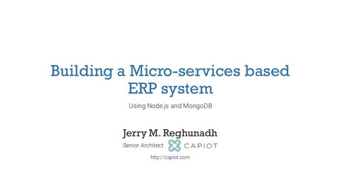 Building a Microservices-based ERP System