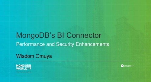 Performance and Security Enhancements in MongoDB's BI Connector
