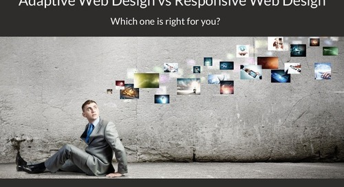 Responsive Web Design vs. Adaptive Web Design