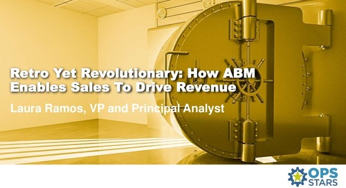 """Retro Yet Revolutionary: How ABM Enables Sales To Drive Revenue """