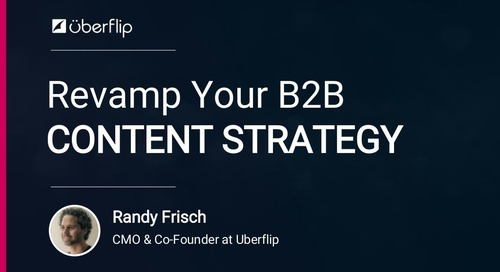 Revamp Your B2B Content Strategy - Dreamforce 2017