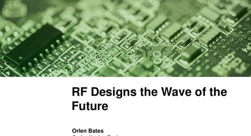 Designing for RF - Tips and Tricks from the PCB Design Pros