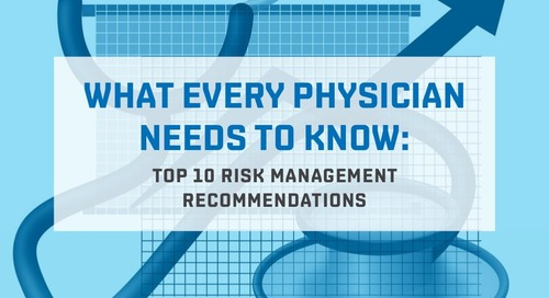 Top 10 risk management recommendations