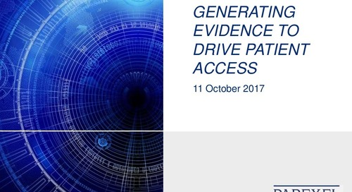 Generating Evidence to Drive Patient Access