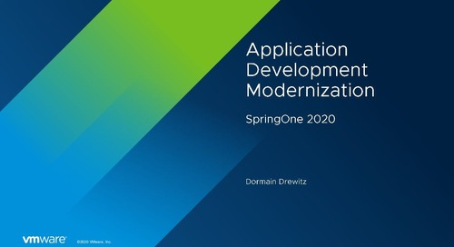 Dormain Drewitz at SpringOne 2020