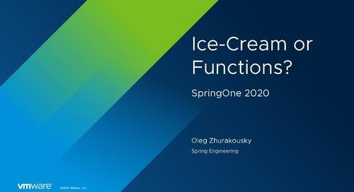 Oleg Zhurakousky at SpringOne 2020