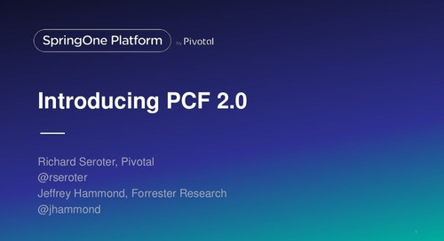 Deep Dive into Pivotal Cloud Foundry 2.0