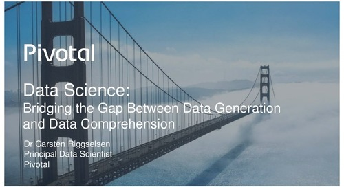Pivotal Digital Transformation Forum: Data Science