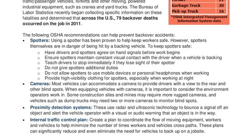 Safety Tip: Avoid Backover Accidents