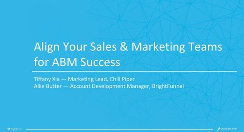 Align Your Sales and Marketing Teams for ABM Success