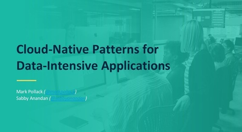 Cloud-Native Patterns for Data-Intensive Applications