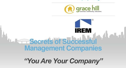 Secrets of Successful Property Management Companies