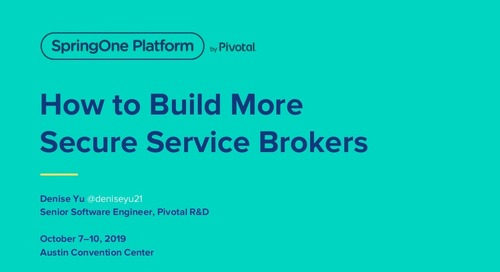 How to Build More Secure Service Brokers