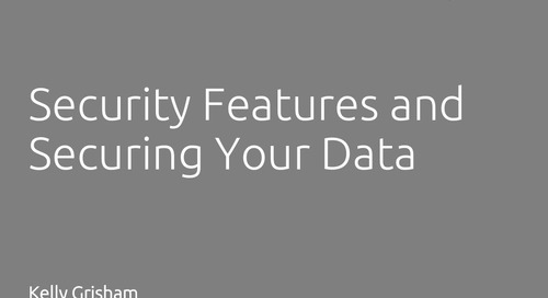 Security Features and Securing Your Data in TurboRater and InsurancePro - Kelly Grisham, ITC