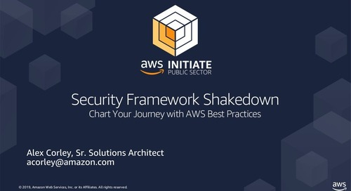 Security Framework Shakedown
