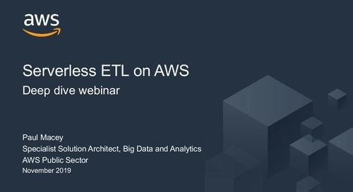 Serverless Extract-transform-load (ETL) on AWS Webinar