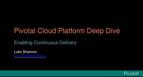 Enabling Continuous Delivery