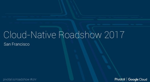 Cloud-Native Roadshow - Microservices - San Francisco