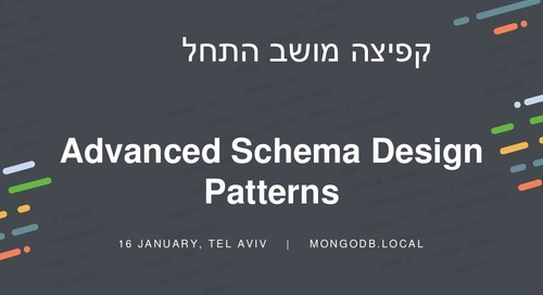 Advanced Schema Design Patterns