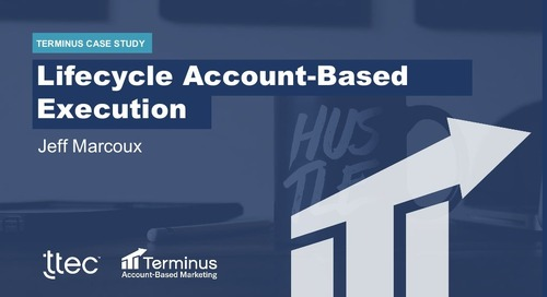 [Deck] ABM Program of the Year: Lifecycle Account-Based Execution