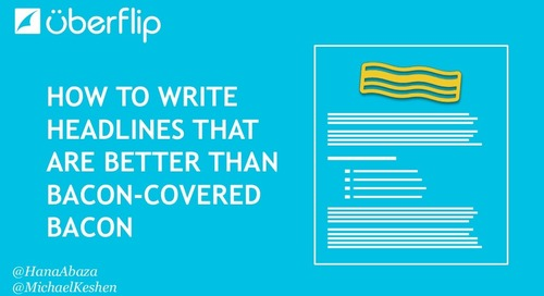 How to Write Headlines that are Better than Bacon-Covered Bacon