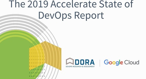 The 2019 Accelerate State of DevOps Report Webinar