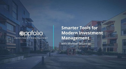 Smarter Tools for Modern Investment Management