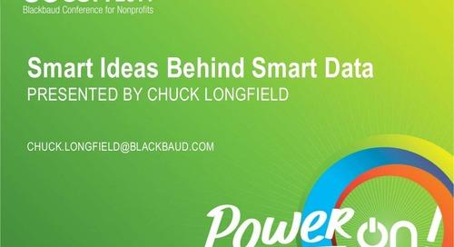 Smart Ideas Behind Smart Data