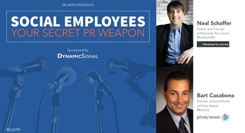 Social Employees: Your Secret PR Weapon