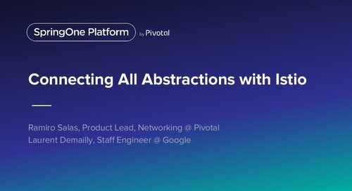Connecting All Abstractions with Istio