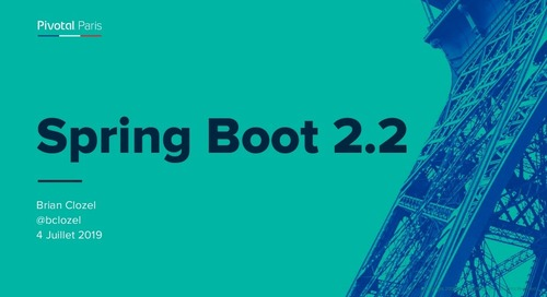 Spring Boot 2.2