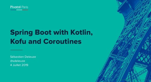 Spring Boot with Kotlin, Kofu and Coroutines