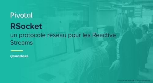RSocket un protocole réseau pour les Reactive Streams