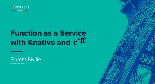 Function as a Service with Knative and riff
