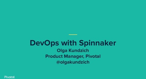 Modern DevOps with Spinnaker - Olga Kundzich