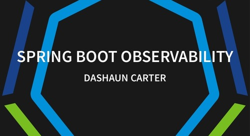 Spring Boot Observability