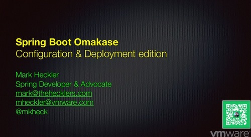 "Spring Boot Omakase: A Fast-Paced ""Chef's Choice"" Dive into Fun and Useful Topics!"
