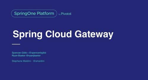 Spring Cloud Gateway - Stéphane Maldini