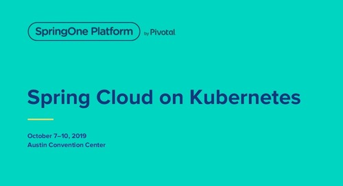 Spring Cloud on Kubernetes