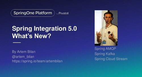 Spring Integration 5.0: What's new?