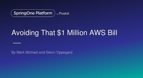 Avoiding that $1M Dollar AWS Bill