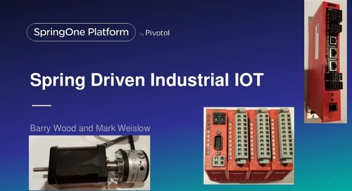 Spring Driven Industrial IoT Utilizing Edge, Fog, and Cloud Computing