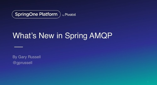 What's new in Spring AMQP 2.0