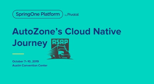 AutoZone and the Road to Cloud Native