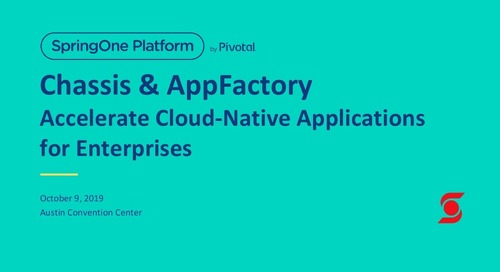 Chassis and AppFactory: Accelerate Development of Cloud-Native Microservices for Enterprises