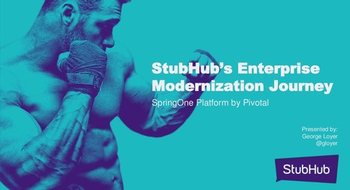 Real World Transformation Experiences at StubHub