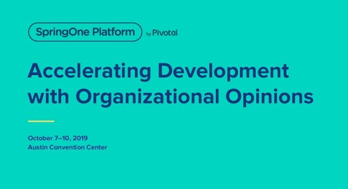Accelerating Development with Organizational Opinions