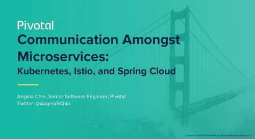 Communication Amongst Microservices: Kubernetes, Istio, and Spring Cloud - Angela Chin